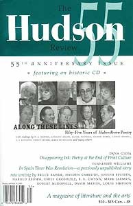 Hudson Review 55th Anniversary Issue