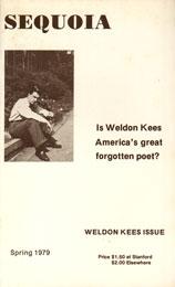 Dana Gioia Weldon Kees Issue of Sequoia